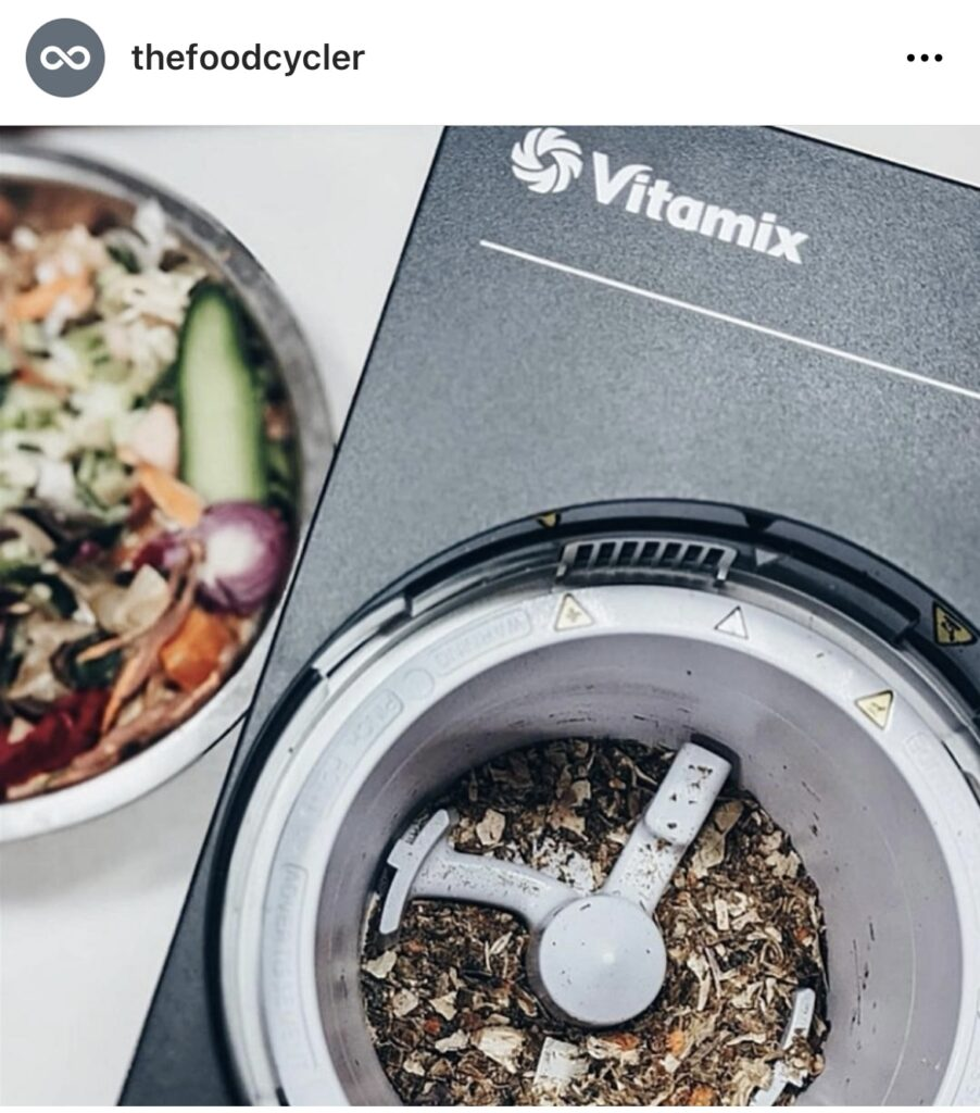 The FoodCycler, an electric composter by Vitamix