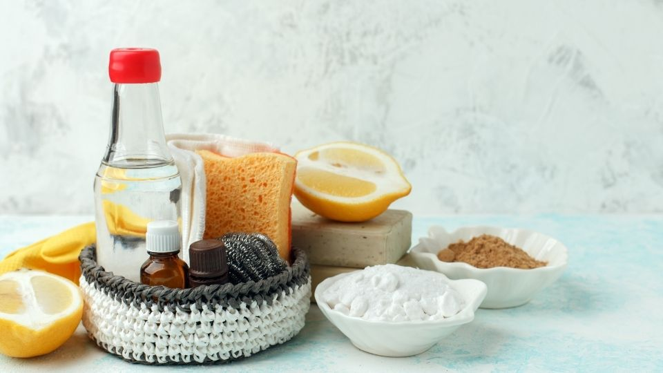 Natural cleaning product ingredients