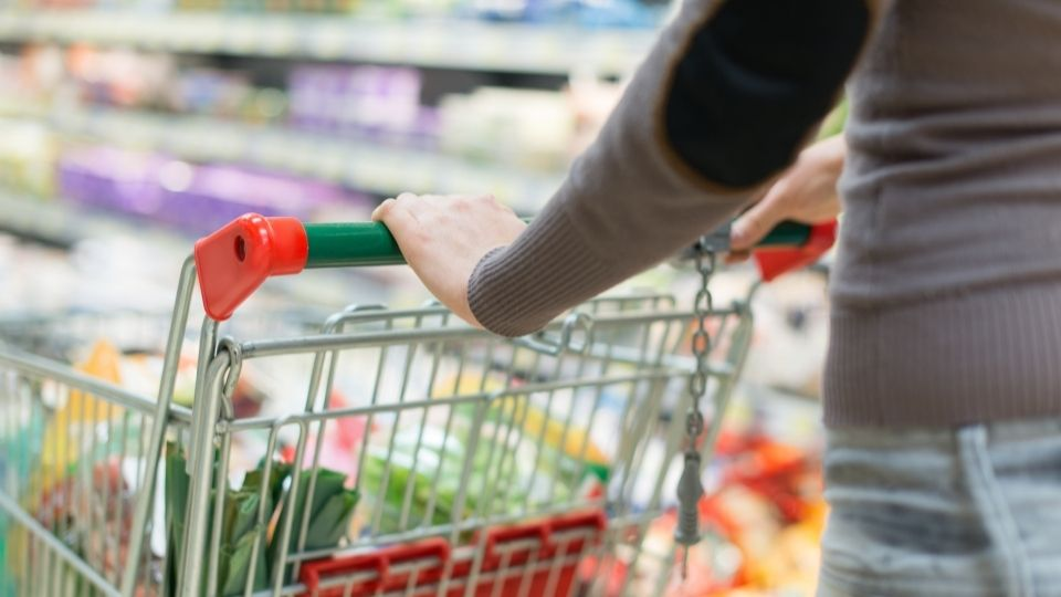 emissions associated with a supermarket shop