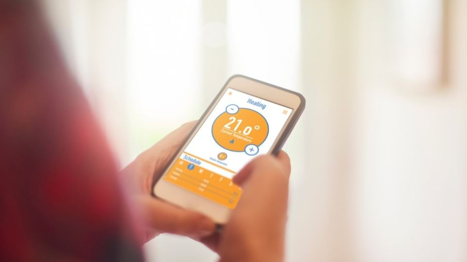 remote control of smart heating