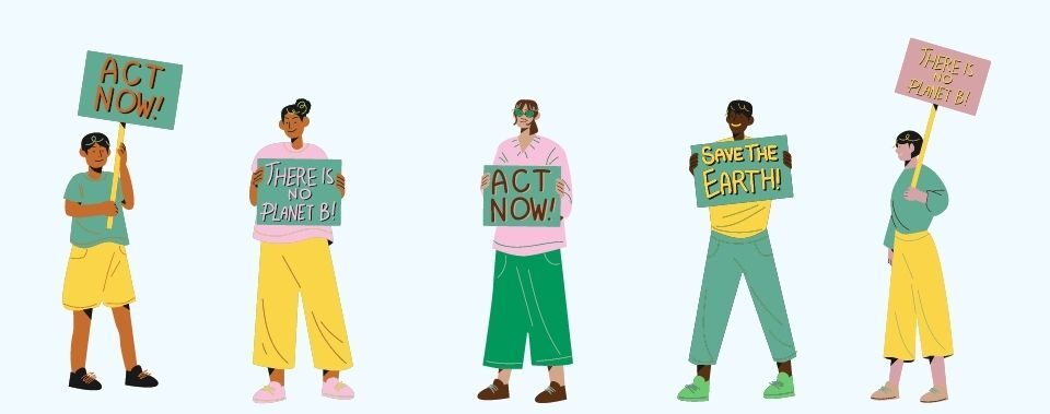 Get involved in the fight against the climate crisis