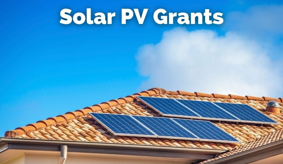 Available solar PV grants