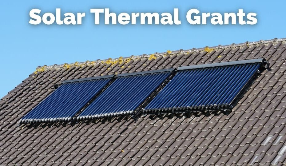 Grants for Solar Thermal Panels