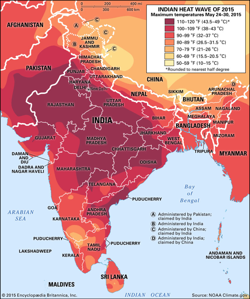 Indian Heat Wave of 2015, from Encyclopaedia Britannica