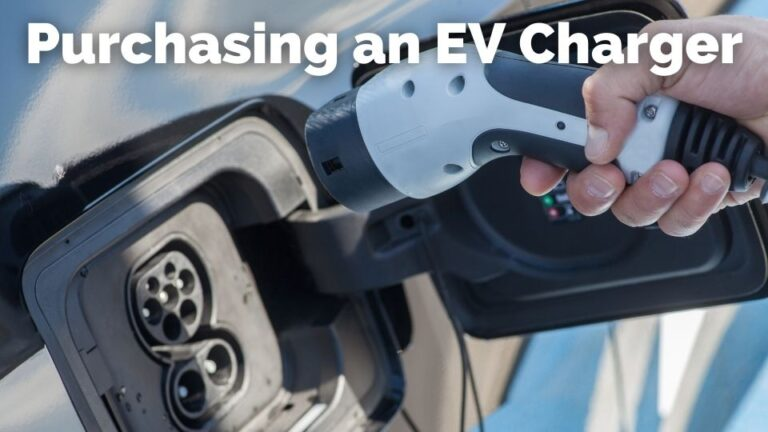 Purchasing an EV charger