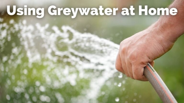 Using greywater at home