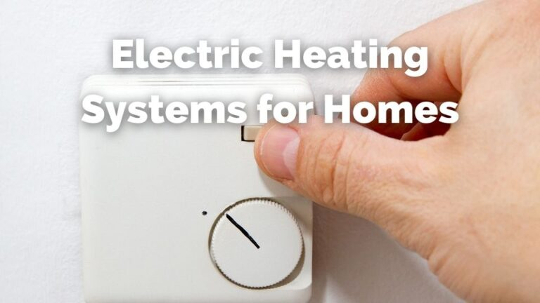 electric heating for homes