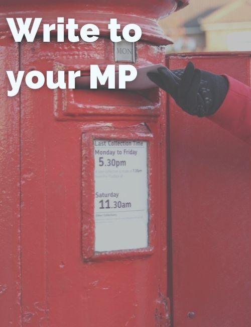 A letter to write to your MP about the climate crisis