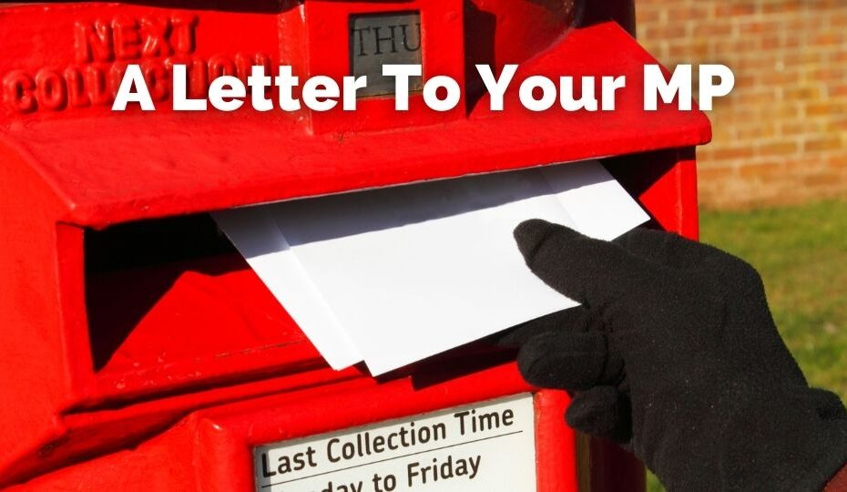 Writing a letter to you MP